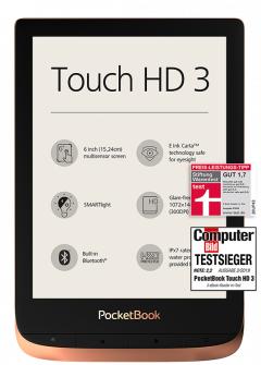Pocketbook Touch HD 3 Kombi mit Hülle