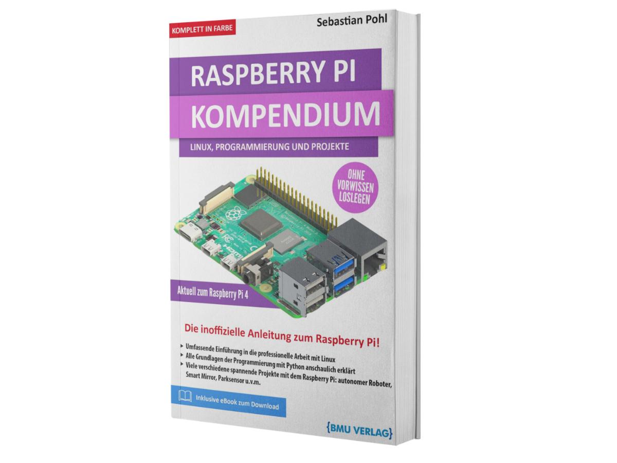 Amazon Kindle EBook Rasberry Pi Kompendium für 0,99 EUR