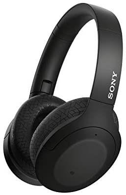 Sony WH-H910N kabellose High-Resolution Kopfhörer (Noise Cancelling, Bluetooth, bis zu 40 Std. Akkulaufzeit, schwarz