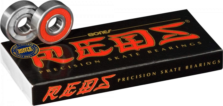 BONES Bearings REDS Skateboard Kugellager für 19,54€ [Amazon Prime]