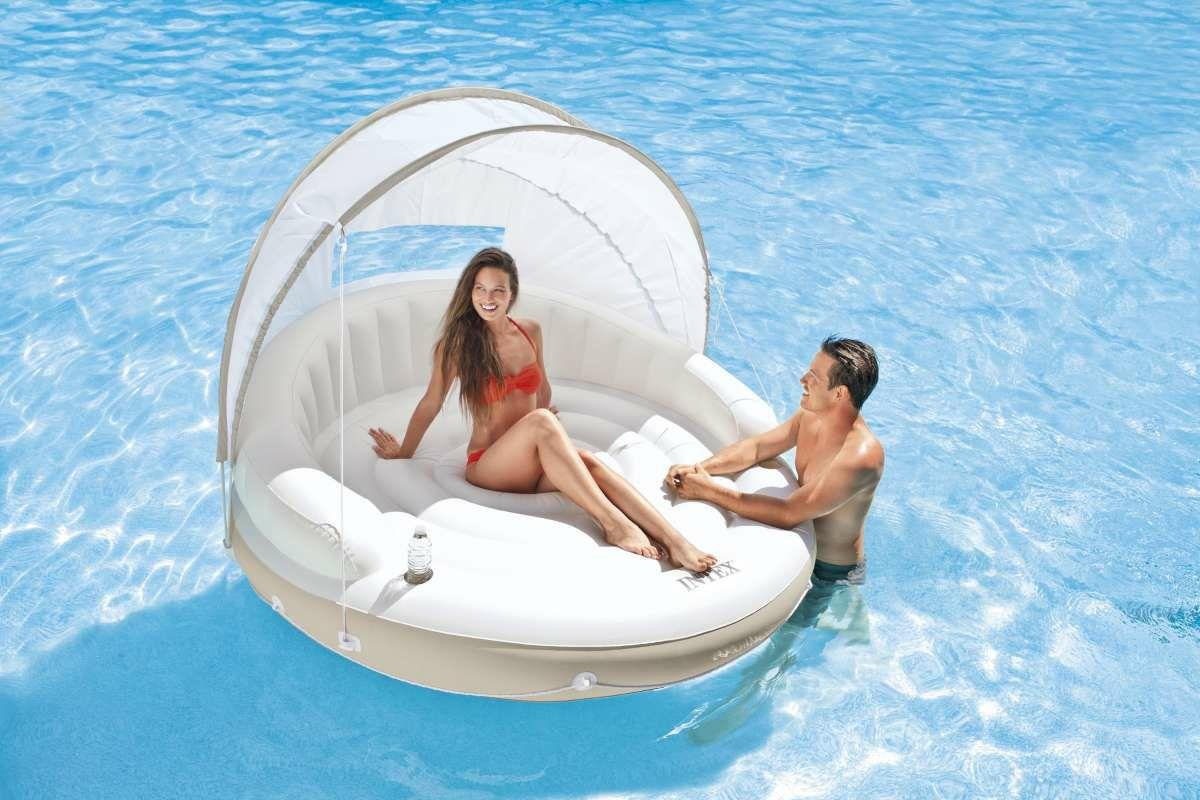 Intex Badeinsel Canopy Island Lounge