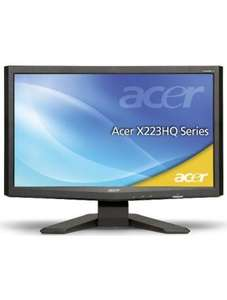 "Acer TFT Monitor 21,5"" X223HQBbd B-Ware"