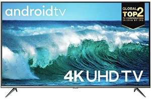 TCL 50EP640 LED Fernseher 126 cm (50 Zoll) Smart TV (4K Ultra HD, HDR 10, Triple Tuner, Android TV, Prime Video) [Amazon]