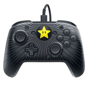 PDP Nintendo Switch Faceoff Wired Pro Controller Super Mario Star Edition für 18,52€ (Amazon US)