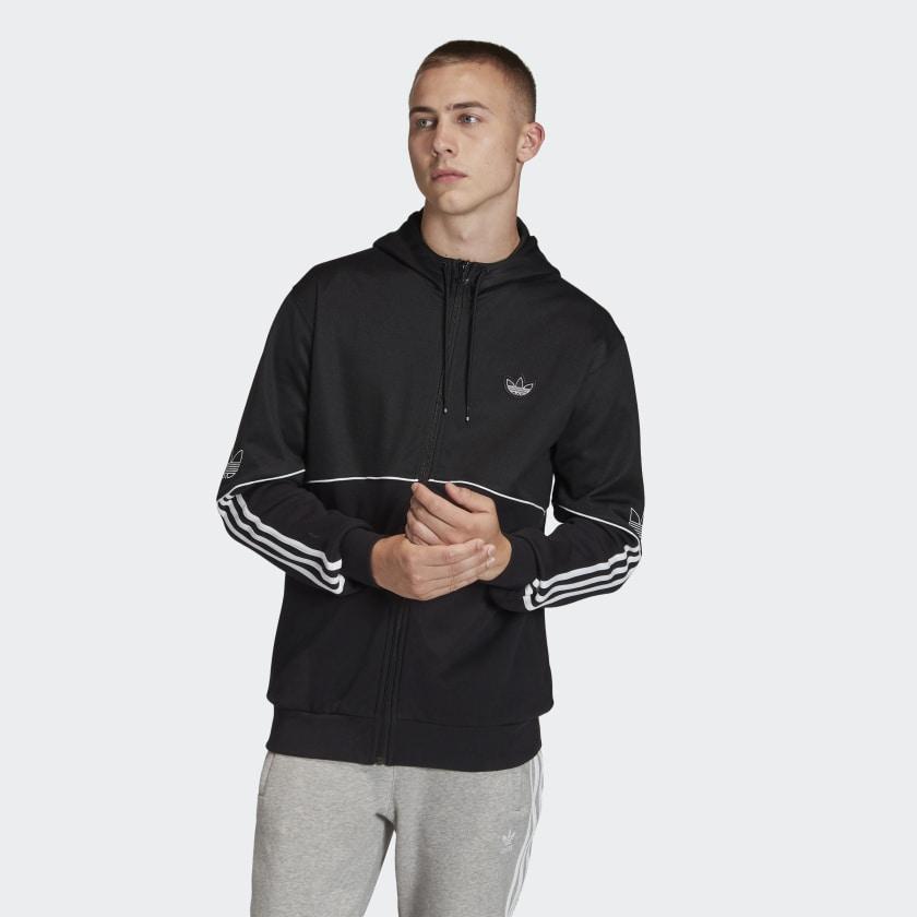 adidas Originals Outline Kapuzenjacke (XS-2XL)- versandkostenfrei