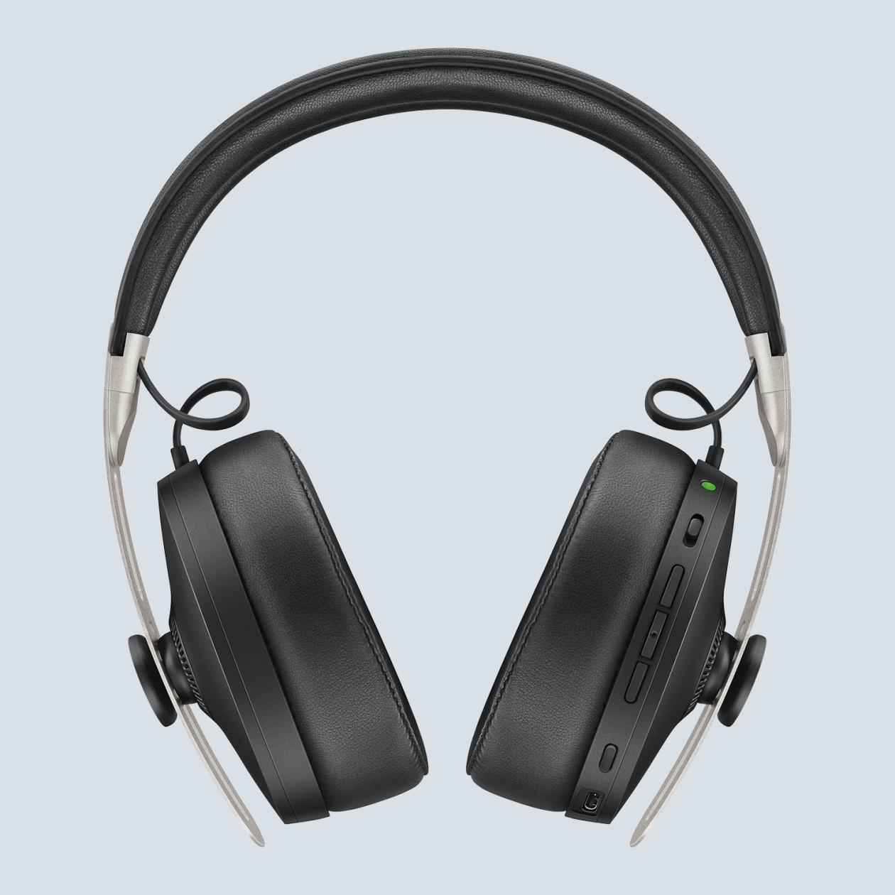 (Lufthansa Worldshop) Sennheiser Momentum 3 Wireless Over-Ear Kopfhörer, Black und Sandy White