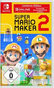[expert.de] Super Mario Maker 2 Limited Edition (12 Monate Online-Zugang) für 55,06 €