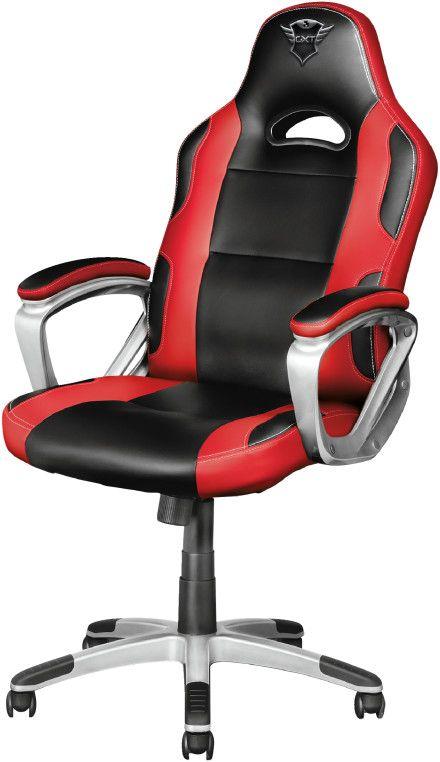TRUST Gaming GXT 705R Gaming Stuhl, Rot/Schwarz [Mediamarkt]