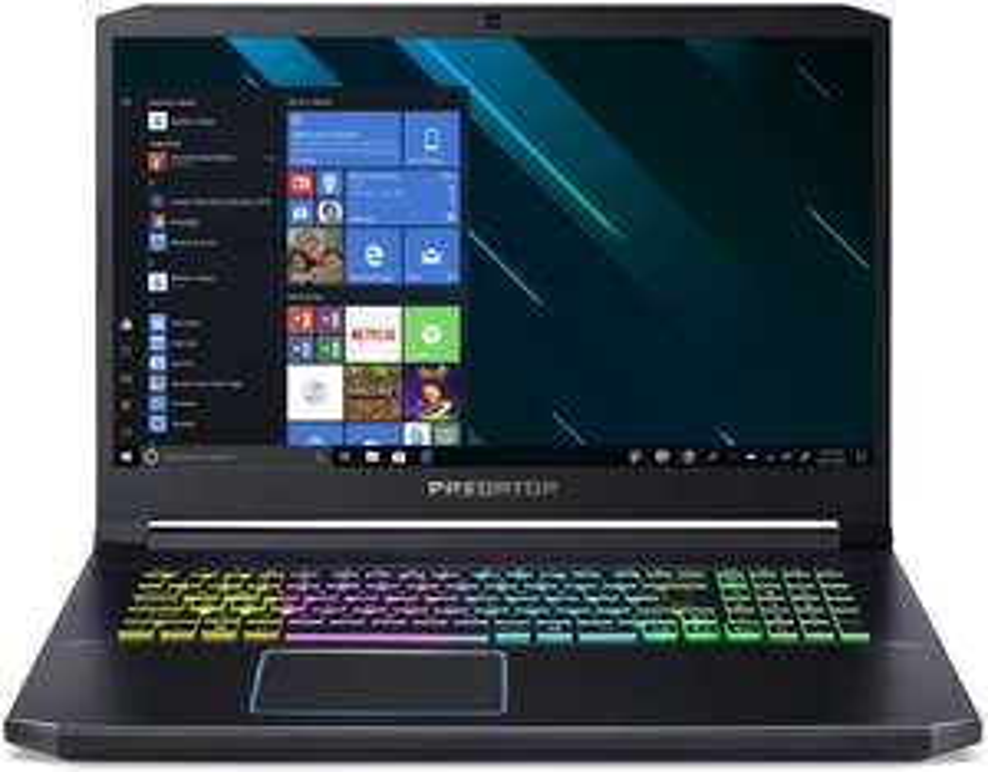 "Acer Predator Helios 300 PH317-53-75YB (17.3"", IPS, FHD, 144Hz, i7-9750H, 32GB RAM, 2x1TB PCIe SSD, RTX 2070 Max-Q, 58Wh, RGB-Tasta, Win10)"
