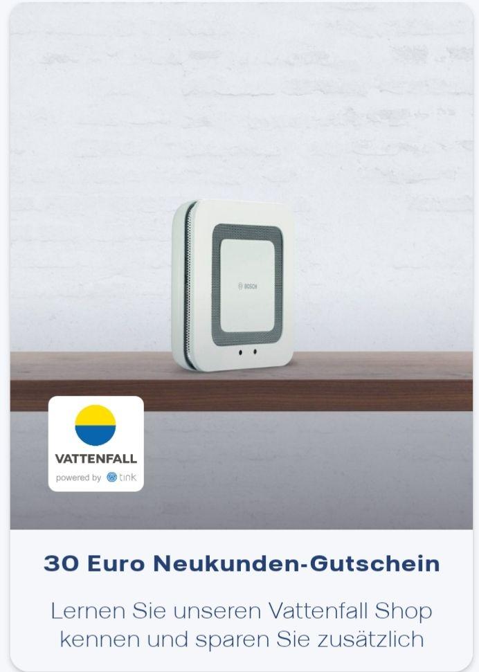 [Vattenfall Kunden] 30€ Neukunden Gutschein (50€ MBW)