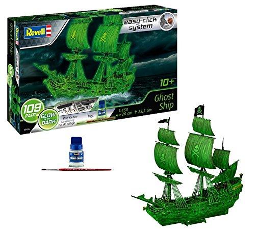 Revell Geisterschiff mit Nachtleuchtfarbe Modellbausatz für 13,64€ (Amazon Prime)