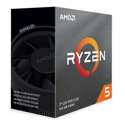 AMD Ryzen 5 3600 6x 3.6GHz So AM4 65 Watt, boxed mit Wraith Stealth Kühler