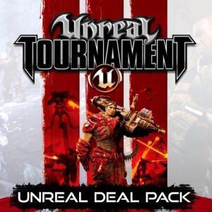 Unreal Deal Pack: Unreal 2: The Awakening, Unreal Gold, Unreal Tournament 3 Black, Unreal Tournament:GotY (Steam) für 1,91€ (GamersGate UK)