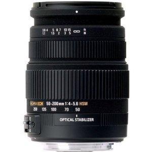 [amazon UK] Sigma AF 50-200mm f4-5.6 OS HSM (Canon) für 128€ statt 202€