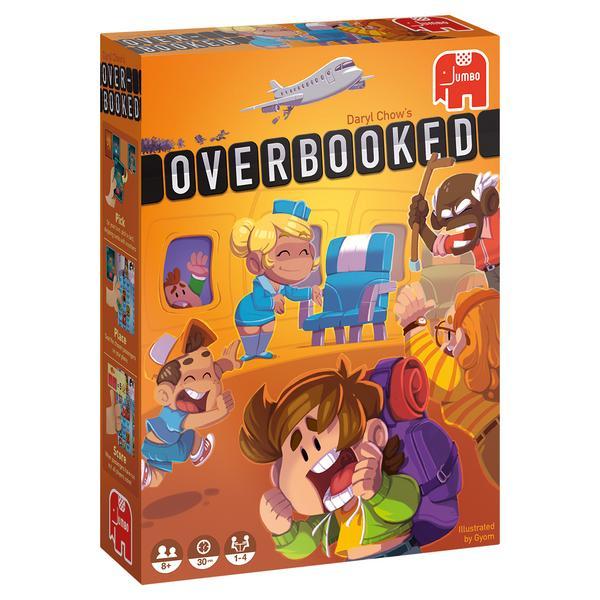 Overbooked (Brettspiel, ab 8 Jahren, 1-4 Spieler, 20-40min Spielzeit, BGG 7.2)