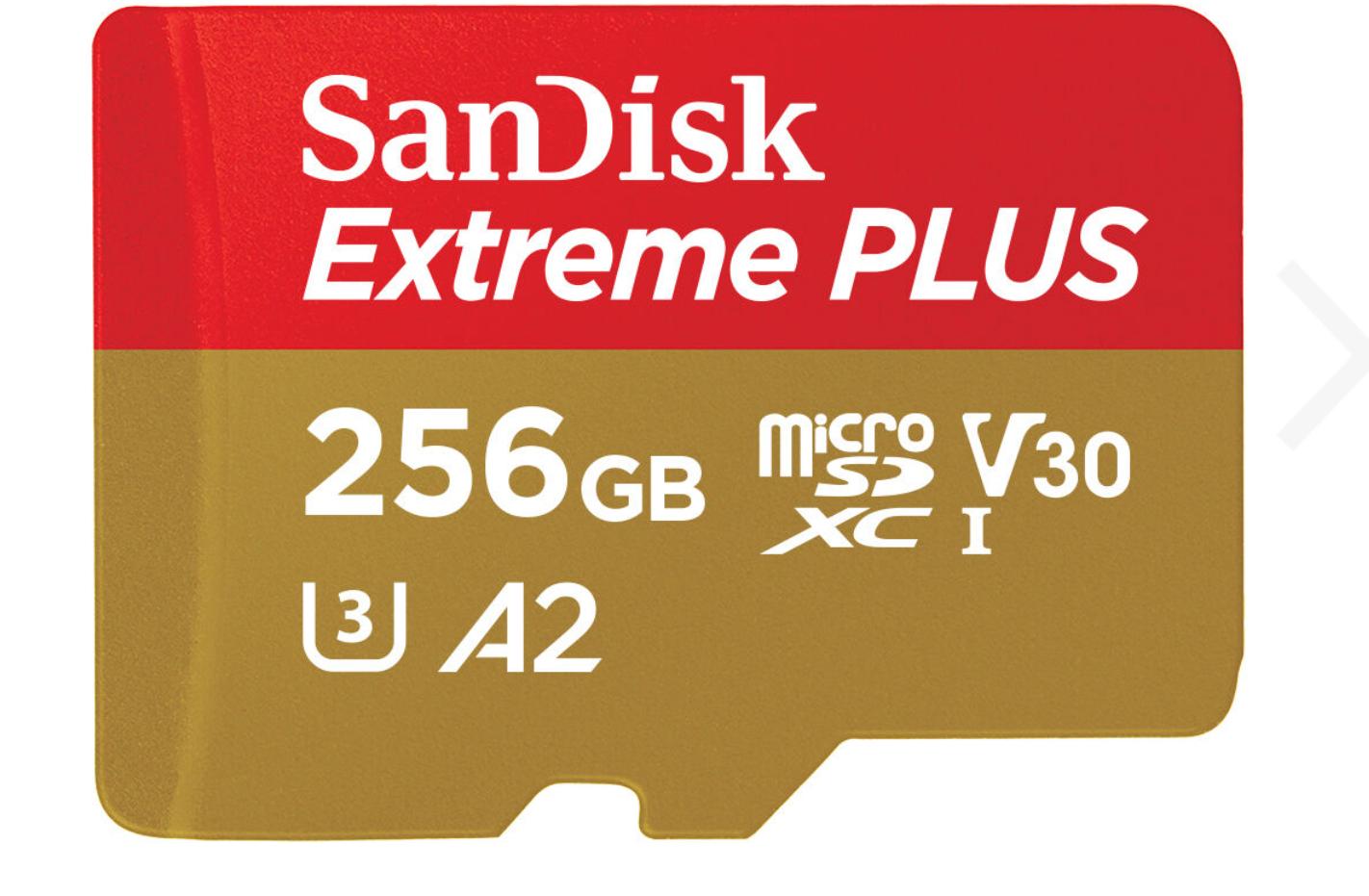 [NBB] SD-Karten Sammeldeal, z.B. SanDisk 256GB EXTREME Plus microSD + Adapter