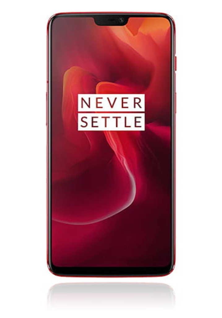 OnePlus 6, 15,9 cm (6.28 Zoll), 1080 x 2220 Pixel, 8 GB, 128 GB, 16 MP, Rot (real, wenige Exemplare vorhanden)