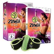 Nintendo Wii Zumba Fitness – Join the Party (inkl. Fitness-Gürtel) für 19,99€ frei Haus