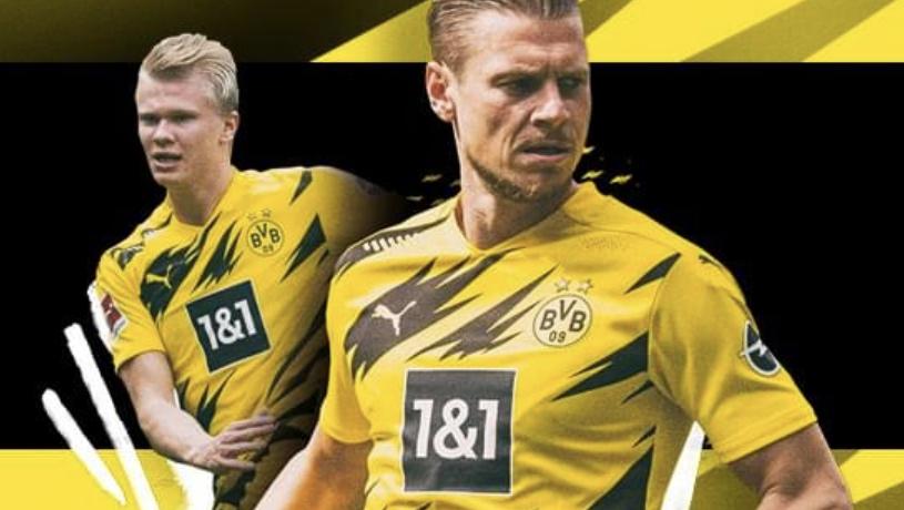 BVB Borussia Dortmund 09 Kinder Trikot Saison 2020/2021 in allen Größen zum Bestpreis