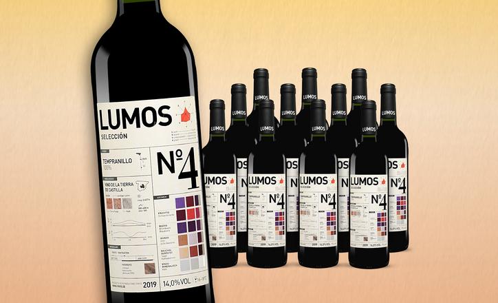 12 x Lumos Nr. 4 Tempranillo Wein im Angebot (Corporate Benefits 46,23 € & Werbung 44,47€ möglich) Preis ohne extra Rabatt