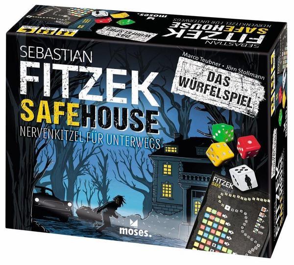 Sebastian Fitzek Safehouse - Das Würfelspiel - Der Gesellschaftsspiel-Klassiker für unterwegs