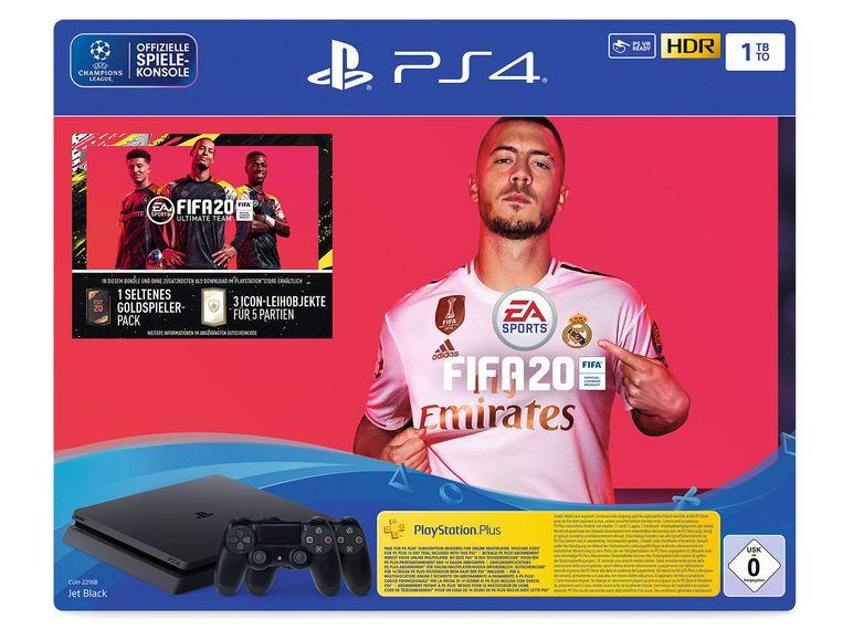 Lokal - SONY PlayStation 4 pro FIFA 20 Bundle, 1TB, inkl. Controller für 291,46 Euro / Hodura Trampolin für 174,49 € [Lidl Wiedereröffnung]