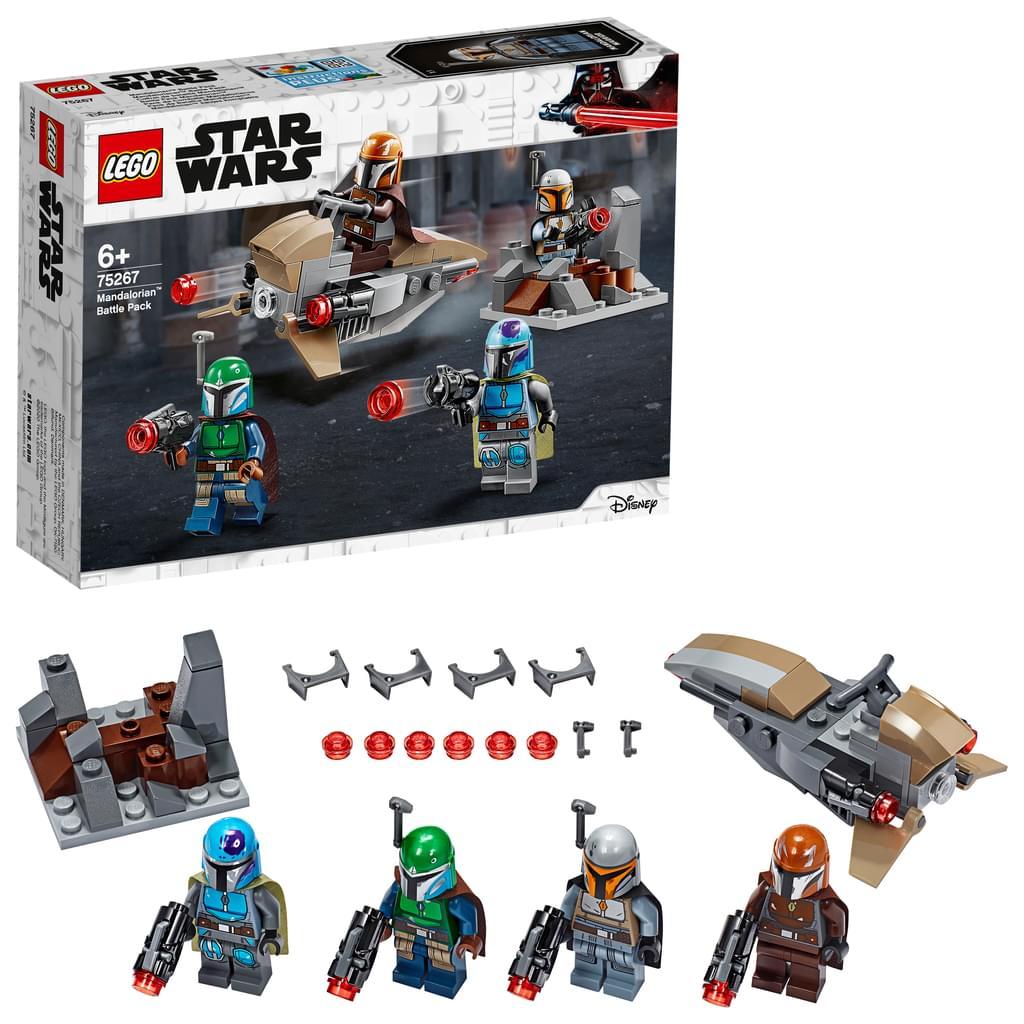 LEGO Star Wars - Mandalorianer Battle Pack (75267) bei Filialanlieferung 9,79 Euro [Real.de]