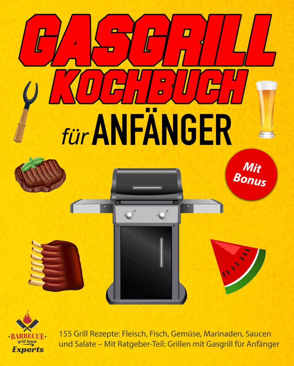 [Freebie] ebook Gasgrill Kochbuch für Anfänger - 155 Rezepte für Grillfans