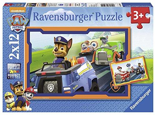 Ravensburger Puzzle - Paw Patrol im Einsatz, 2x12 Teile für 6,29€ (Amazon Prime)
