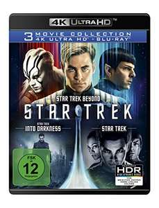 Star Trek 3 Movie Collection 4K (4K UHD + Blu-ray) für 38,96€ (Amazon)