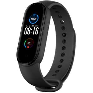 "Xiaomi Mi Band 5: Fitness Tracker - Global Version (1.1"" Amoled Display, 24/7 Herzfrequenzmessung, 11 Sportmodi, Bluetooth 5.0)"