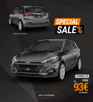 (Leider Gewerbe) Hyundai i20 Advantage ab 93€ im Monat (Vario Finanzierung)