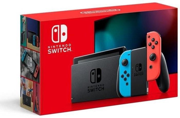 NINTENDO Switch Neon-Rot/Neon-Blau (neue Edition) [MediaMarkt eBay]