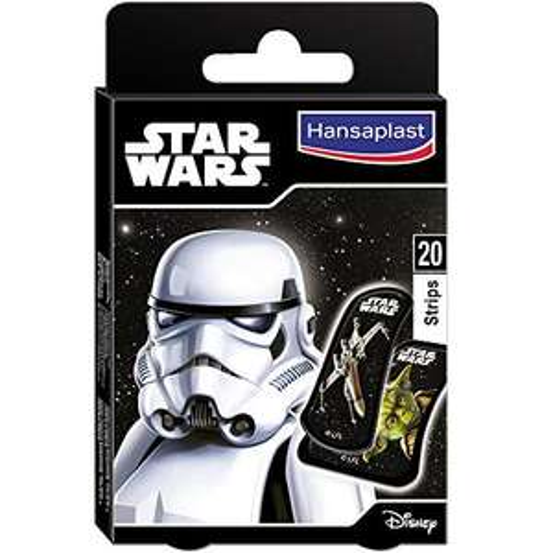 Hansaplast Star Wars Pflaster (1 x 20 Stück) - Mindestbestellmenge: 2 Stück