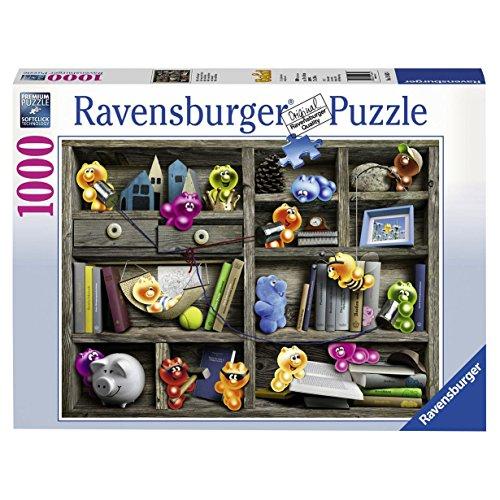 Ravensburger Puzzle - Gelini im Bücherregal 1000 Teile für 7,31€ (Amazon Prime)