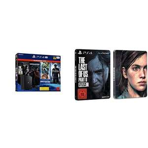 PS4 Pro PS Hits + The Last of Us II Steelbook Edition