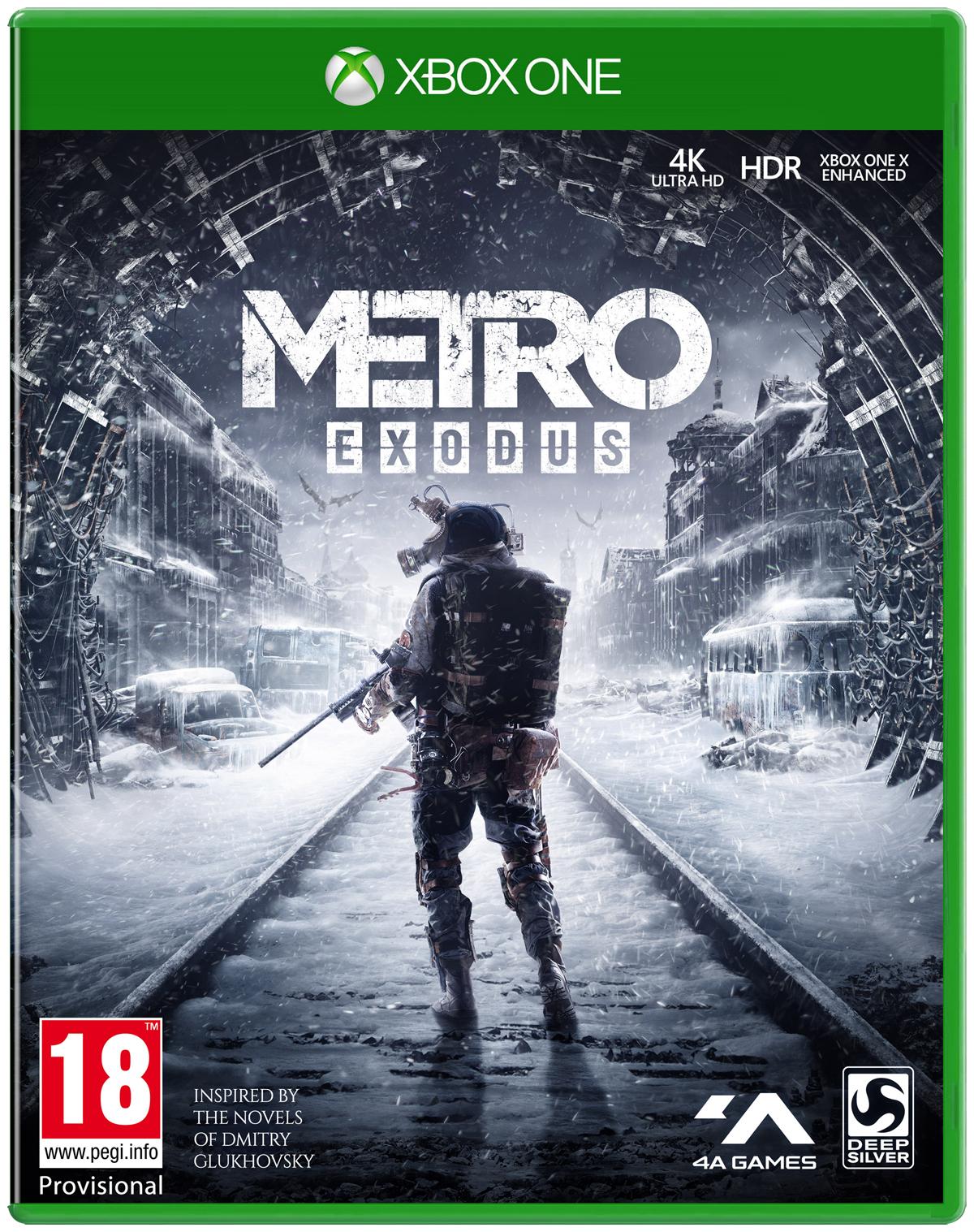 Metro Exodus (Xbox One) für 13,50€ (Coolshop)