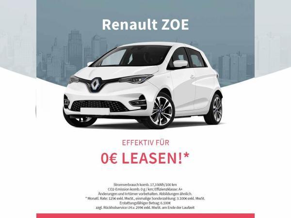 Gewerbeleasing Renault Zoe eff. 0 EUR mtl. nach Innovationsprämie