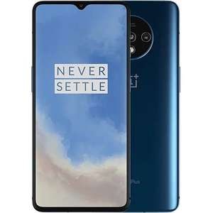 "Oneplus 7T 8/128GB Blau (6,55"" FHD+ AMOLED 90Hz, 190g, SD855+, NFC, 3800mAh, 482k AnTuTu) [V&V Amazon]"