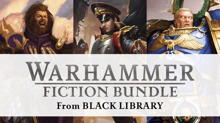 [Fanatical] Warhammer: Age of Sigmar / Warhammer 40,000/ Horus Heresy Fiction Bundles