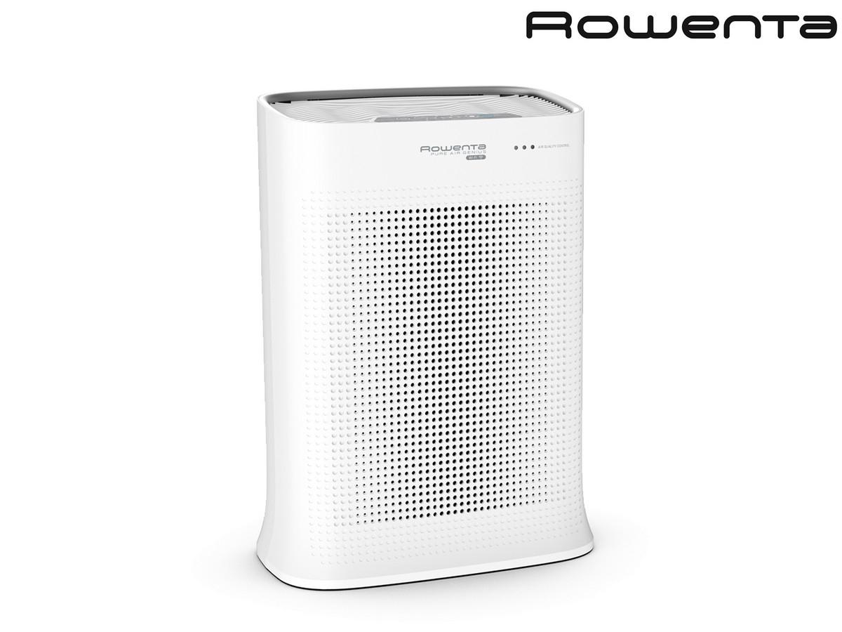 """Rowenta Luftreiniger """"PU3080 Pure Air Genius""""(WLAN, App-Steuerung möglich, 4 Filterstufen, Aktivkohlefilter, 31 dBA im Nachtmodus) [iBOOD]"""