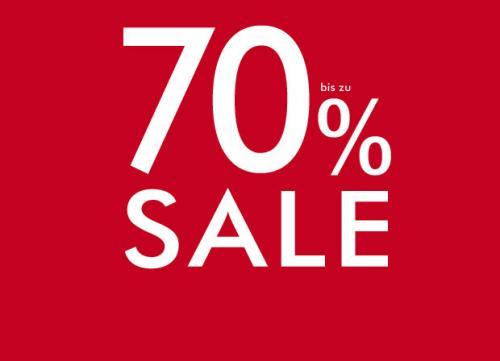 Viele Markenklamotten bis zu 70% reduziert (zusätzlich +10%)
