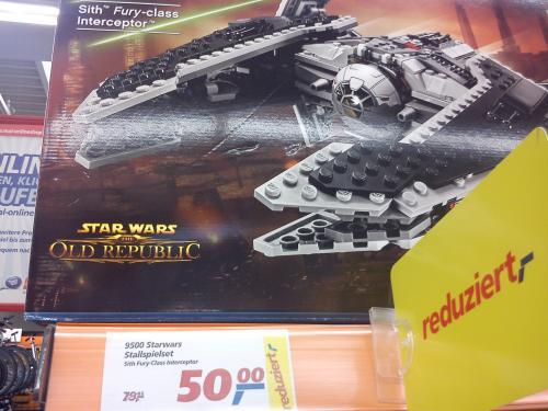 [Lokal] Lego Star Wars Sith Fury Class Interceptor 9500 @ Real Bannewitz b. Dresden