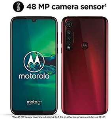 Motorola Moto G8 Plus, 6,3-Zoll-FHD-Display, 48-MP-Kamerasensor, Dolby-Stereolautsprecher, 64 GB / 4 GB, Android 9.0, Dual-SIM [Amazon.it]