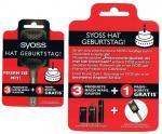 Offline /  bei dm gibt es eine Syoss Stylingbürste kostenlos bei Kauf von 3 Syoss Artikeln