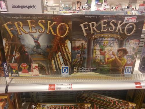 Brettspiel Fresko mit 6 Erweiterungen für 34,99 € (Ffm Karstadt Nordwestzentrum, evtl. deutschlandweit?)