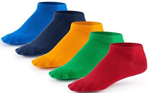 [Amazon] 10 Paar Sneaker Socken von Mat & Vic's | OEKO-TEX Standard 100 | Farbauswahl