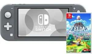 Nintendo Switch Lite (Grau) inkl. The Legend of Zelda - Link's Awakening