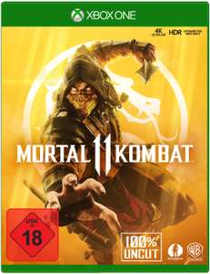 Mortal Kombat 11 (Xbox One) für 14,69€ (GameStop)