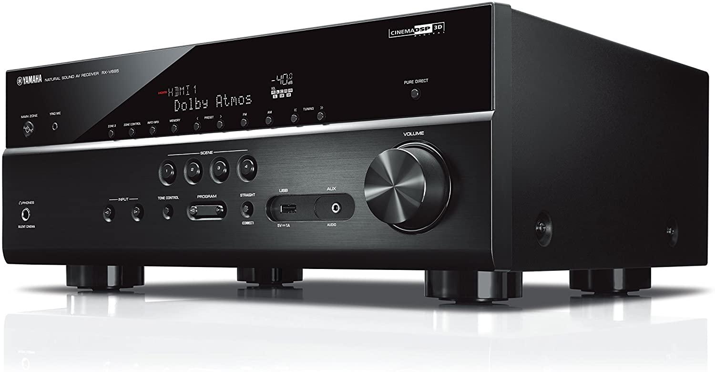 Yamaha RX-V685 MC AV-Receiver (Netzwerk-Receiver mit außergewöhnlichem 7.2 Music Cast Surround-Sound - ) schwarz